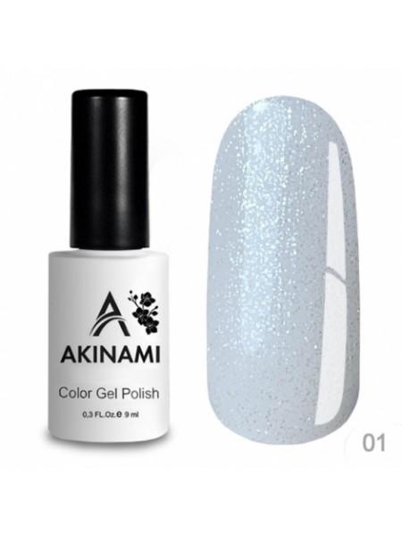 База каучуковая для гель-лака Akinami Glitter Base Gel 1