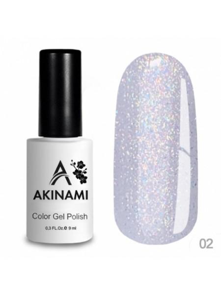 База каучуковая для гель-лака Akinami Glitter Base Gel 2