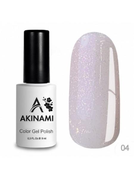База каучуковая для гель-лака Akinami Glitter Base Gel 4