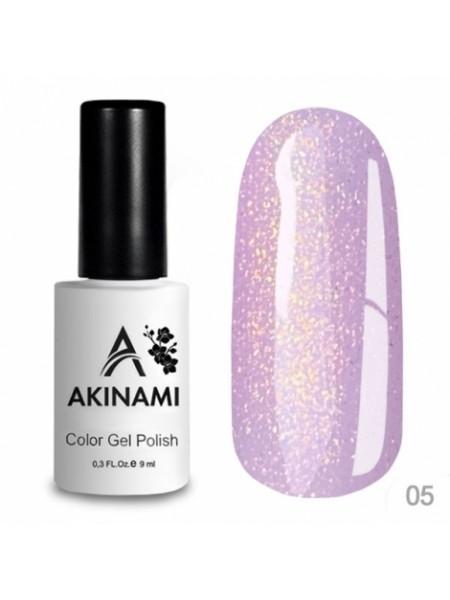 База каучуковая для гель-лака Akinami Glitter Base Gel 5