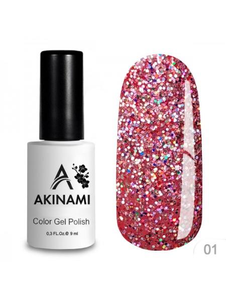 "Akinami Гель-лак ""DISCO"" №01"