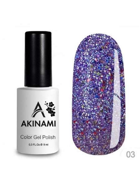 "Akinami Гель-лак ""DISCO"" №03"