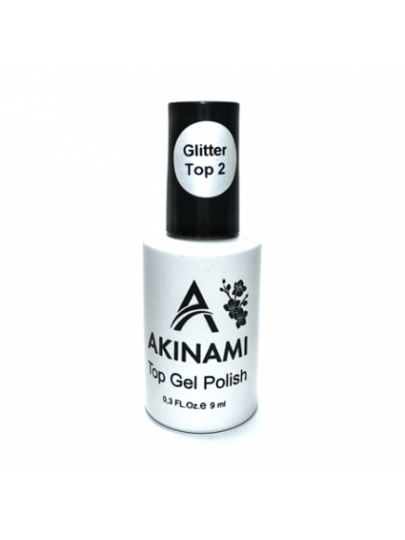 Топ для гель-лака Akinami Glitter Top 2