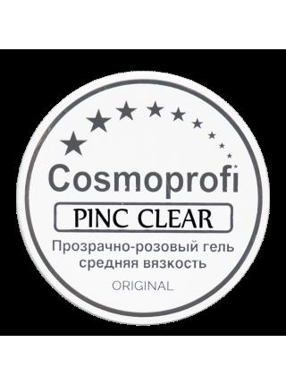 Cosmoprofi Гель д\наращивания ногтей Pink Clear Однофазный Прозрачно-Розовый 15 гр