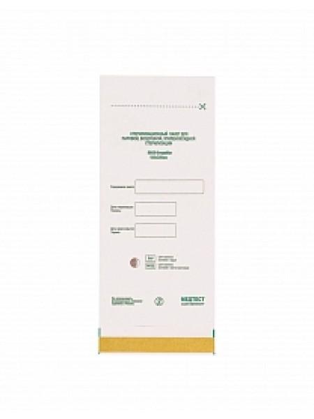 Крафт пакеты для стерилизации белые 100*200 мм (100 шт)