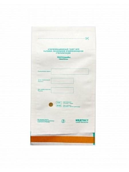 Крафт пакеты для стерилизации белые 75*150 мм (100 шт)