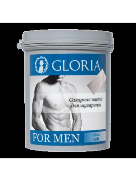 Паста для мужского шугаринга GLORIA FOR MEN Ultra soft 0,8 кг