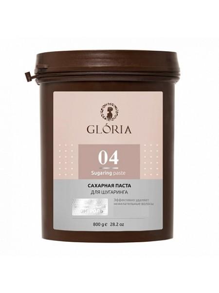 """GLORIA  Сахарная паста для депиляции """"Бандажная"""" 0,8 кг  04"""