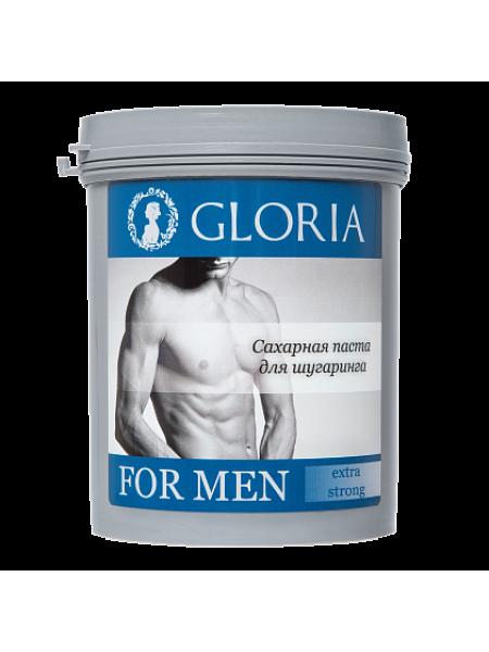 Паста для мужского шугаринга GLORIA FOR MEN Extra strong 0,8 кг