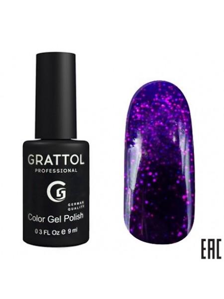 Grattol Color Gel Polish Гель-лак Luxury Stones Amethyst №02