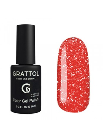 Grattol Bright Neon Гель-лак светоотражающий №05