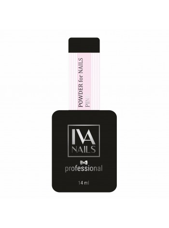 IVA NAILS Powder for nails Base Peach  Камуфлирующая база Персиковая, 14 мл.