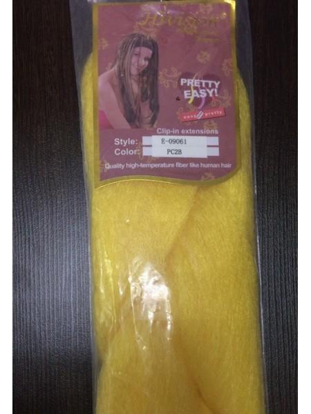 Канекалон: цвет жёлтый