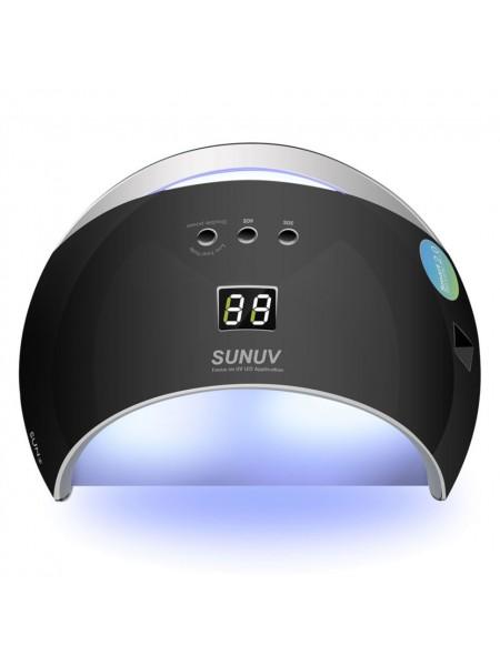 Sun UV-6 Led  48 w / Smart 2.0 / 2 в 1 / Led/UV Lamp / Черный