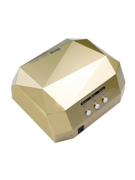 Гибридная Лед-Уф лампа ЗОЛОТАЯ  (12 W уф, лед 24 ватт)  36W-F