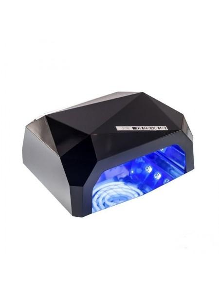 Гибридная Лед-Уф лампа ЧЕРНАЯ (12 W уф, лед 24 ватт) 36W-G