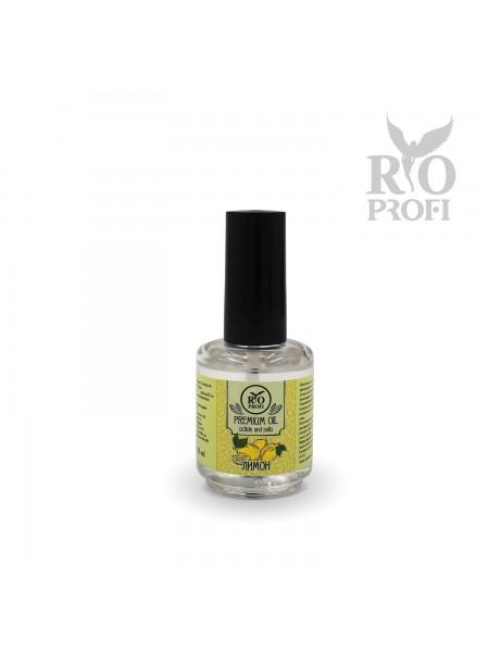 Rio Profi, Питательное масло для кутикулы,15 мл Лимон