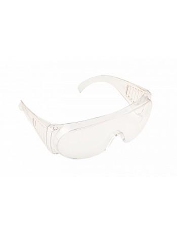 Очки защитные открытые (цвет: прозрачный) №6148
