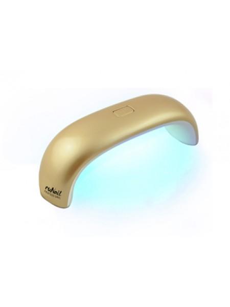 LED лампа 9 Вт (золотая)