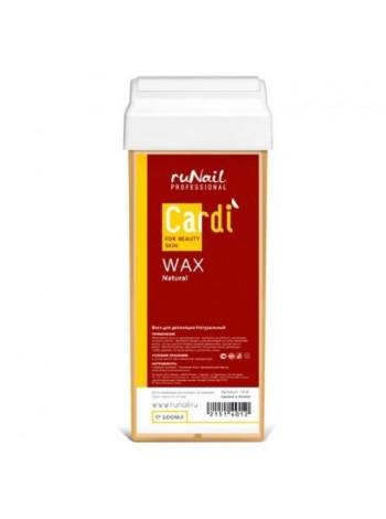 Воск для депиляции Cardi (аромат: Натуральный), 100 мл