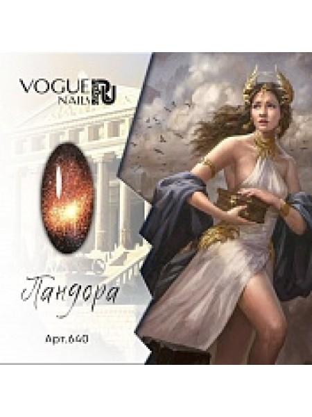 Vogue nails гель-лак Кошачий глаз 9D Пандора