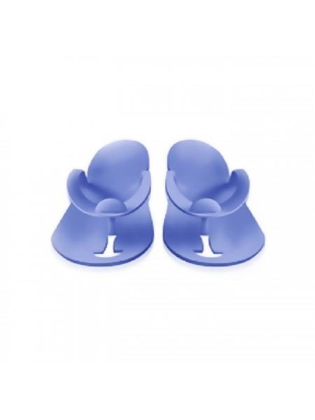 Одноразовые тапочки для Педикюра (Синие 3 мм)