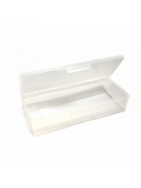 Пластиковый контейнер для стерилизации (малый) прозрачно-розовый