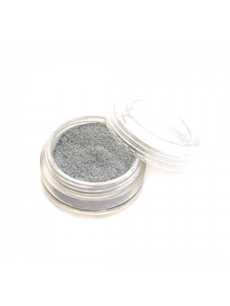 Пыль мерцающая мелкодисперсная №14 (серебро металл)