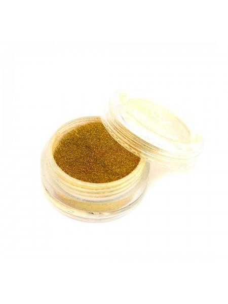 Пыль мерцающая мелкодисперсная №15 (золото металл)
