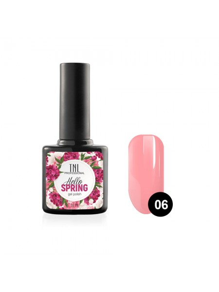 Гель-лак TNL Hello Spring №06 - розовый (10 мл.)
