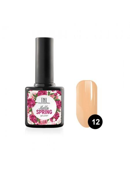 Гель-лак TNL Hello Spring №12 - абрикосовый щербет (10 мл.)