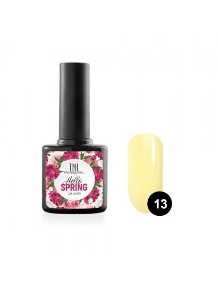 Гель-лак TNL Hello Spring №13 - нежно-желтый (10 мл.)