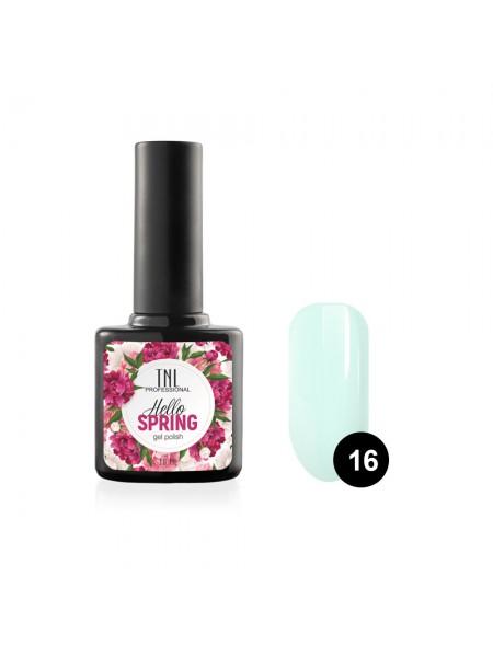 Гель-лак TNL Hello Spring №16 - светло-мятный (10 мл.)