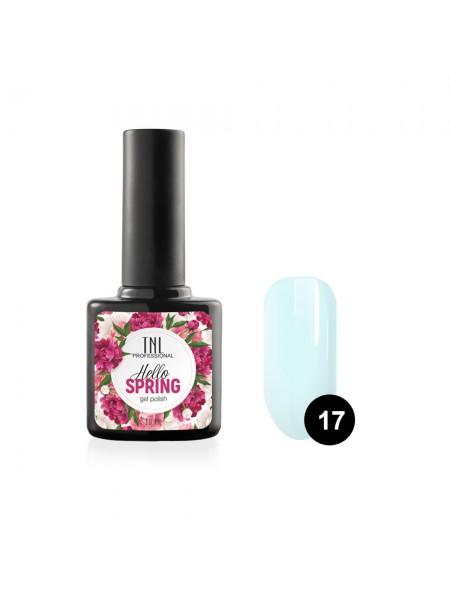 Гель-лак TNL Hello Spring №17 - светло-голубой (10 мл.)