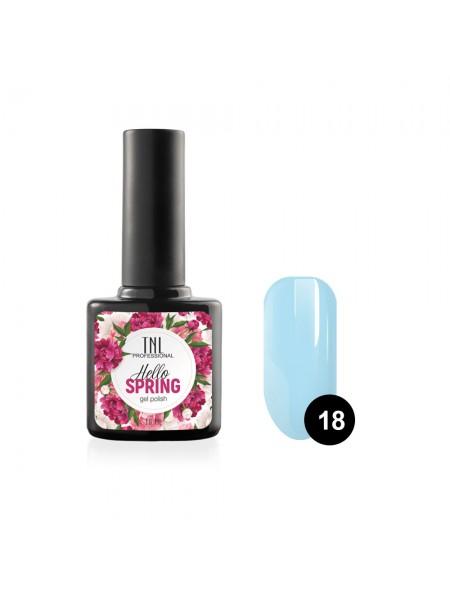 Гель-лак TNL Hello Spring №18 - небесно-голубой (10 мл.)