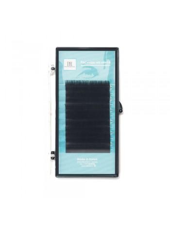 Ресницы на ленте TNL 0,12 (в упаковке № 7,8,9,10,11,12) D-изгиб