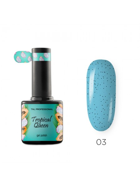 Гель-лак TNL Tropical queen №03 - голубая малина , 10 мл.