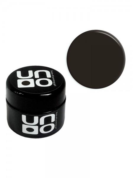 "Гель-краска ""UNO"" - 002 Black - черная, 5 мл."