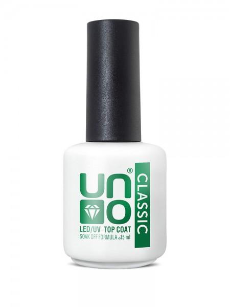 Верхнее покрытие для гель-лака Classic «Uno», 15 мл.