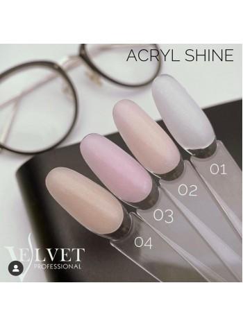 Velvet  Acryl gel Shine №02, 30 мл.